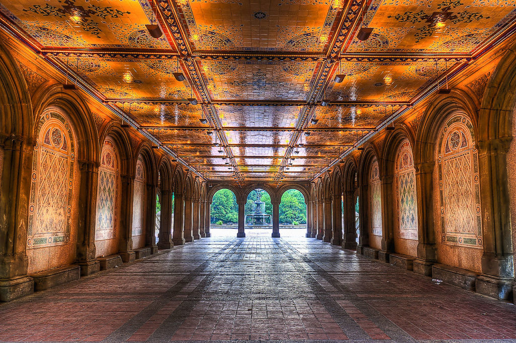gratis rondleidingen New York - Bethesda Terrace and Fountain Central Park NYC