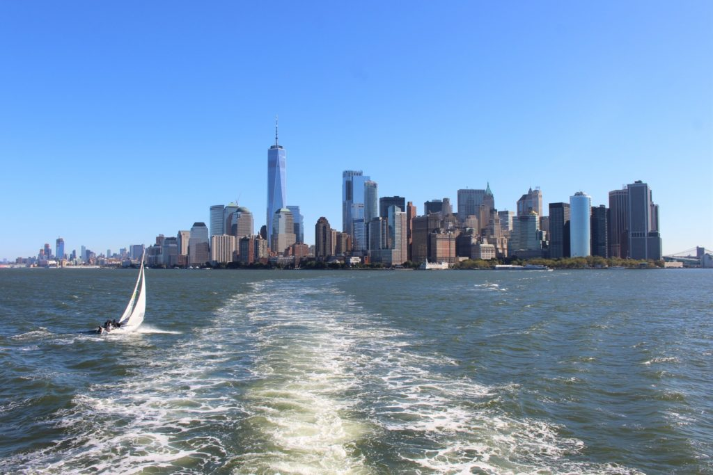 Gratis rondleidingen in New York - view from Battery Park